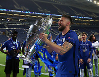 Porto, Portugal, 29th May 2021. Olivier Giroud of Chelsea celebrates during the UEFA Champions League match at the Estadio do Dragao, Porto. Picture credit should read: David Klein / Sportimage PUBLICATIONxNOTxINxUK SPI-1071-0332 <br /> Oporto 29/05/2021 <br /> Champions League Final <br /> Manchester City Vs Chelsea <br /> Photo Imago/Insidefoto <br /> ITALY ONLY