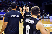New Zealand Tall Blacks' Tom Abercromble, FIBA World Cup Basketball Qualifier - NZ Tall Blacks v Syria at TSB Bank Arena, Wellington, New Zealand on Sunday 2 2018. <br /> Photo by Masanori Udagawa. <br /> www.photowellington.photoshelter.com