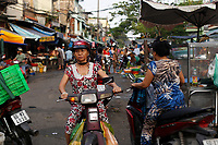 Cholon market in the morning<br />  - Ho Chi Minh City.