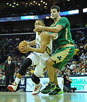 A small sampling of images from the New Orleans Pelicans, 121-120 OT victory over the Boston Celtics at the Smoothie King Center. Images in this gallery are not for sale or further distribution and appear solely as a representation of my photography.