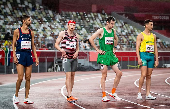 Liam Stanley, Tokyo 2020 - Para Athletics // Para-athlétisme.<br /> Liam Stanley competes in the men's 1500m T38 final // Liam Stanley participe à la finale masculine du 1500 m T38. 04/09/2021.