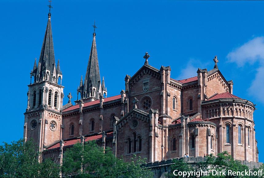 Spanien, Asturien, Covadonga, Basilika