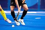 Men's match between New Zealand and Australia, Oi Hockey Stadium, Tokyo, Japan, Wednesday 28 July 2021. <br /> Photo: Alisha Lovrich/HockeyNZ/www.bwmedia.co.nz