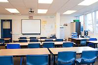 Secondary: Empty Classrooms