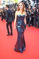 Leonor Serraille sur le tapis rouge pour la projection du film THE BEGUILED / LES PROIES lors du soixante-dixième (70ème) Festival du Film à Cannes, Palais des Festivals et des Congres, Cannes, Sud de la France, mercredi 24 mai 2017. Philippe FARJON / VISUAL Press Agency