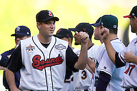 July 15, 2009: Nashville Sounds' R.J. Swindle during the 2009 Triple-A All-Star Game at PGE Park in Portland, Oregon.