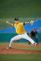 Jack Hunke (19) of Wentzville Holt High School in Foristell, MO during the Perfect Game National Showcase at Hoover Metropolitan Stadium on June 17, 2020 in Hoover, Alabama. (Mike Janes/Four Seam Images)