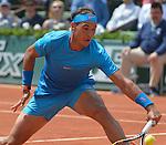 Rafael Nadal (ESP) defeats Quentin Halys, 6-3, 6-3, 6-4