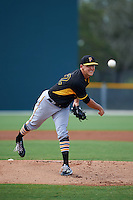 Pittsburgh Pirates pitcher Jameson Taillon (98) during an instructional league intrasquad black and gold game on October 2, 2015 at Pirate City in Bradenton, Florida.  (Mike Janes/Four Seam Images)