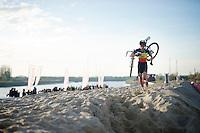 Sven Nys (BEL/Crelan-AAdrinks) dominating the race<br /> <br /> Jaarmarktcross Niel 2014