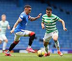 02.05.2121 Rangers v Celtic: James Tavernier and Moi Elyounoussi