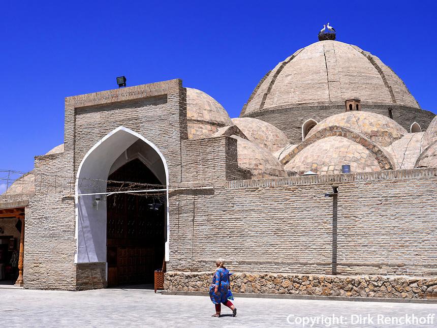 Kuppelbasar in Buchara, Usbekistan, Asien, UNESCO-Weltkulturerbe<br /> Domed Bazaar, Historic City of Bukhara, Uzbekistan, Asia, UNESCO Heritage Site