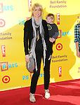 """Jenna Elfman & son Story Elias at The 12th Annual P.S. ARTS """"Express Yourself 2009"""" To Help Restore Arts Education in Public Schools,The event was  held at Barker Hangar in Santa Monica, California on November 15,2009                                                                   Copyright 2009 DVS / RockinExposures"""