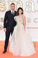 """Channing Tatum and wife, Jenna Dewan<br /> arriving for the """"Kingsman: The Golden Circle"""" World premiere at the Odeon and Cineworld Leicester Square, London<br /> <br /> <br /> ©Ash Knotek  D3309  18/09/2017"""