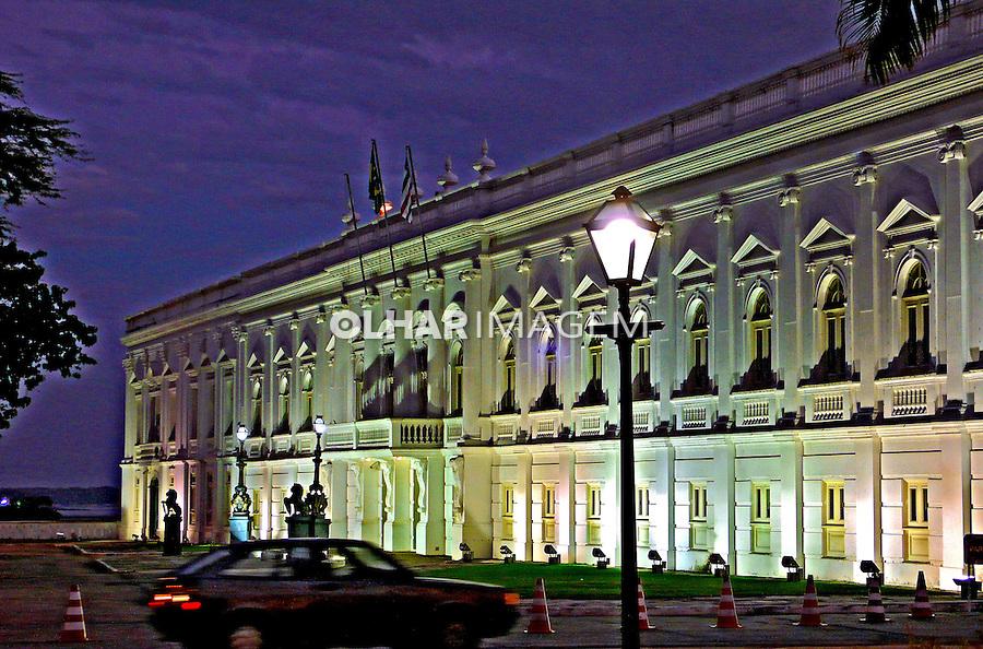 Palácio dos Leões e sede do governo, centro histórico de São Luis. Maranhao.2007. Foto de Rogério Reis.