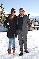 "ALICE POL ET DANY BOON AU PHOTOCALL DU FILM ""RAID DINGUE"" - 20EME FESTIVAL INTERNATIONAL DU FILM DE COMEDIE DE L'ALPE D'HUEZ 2017"