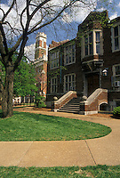 AJ4165, university, Vanderbilt, college, Nashville, Vanderbilt University, Tennessee, Buildings on the campus of Vanderbilt University in Nashville in the state of Tennessee.