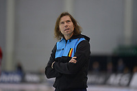 SPEEDSKATING: 16-02-2020, Utah Olympic Oval, ISU World Single Distances Speed Skating Championship, Gerard van Velde (coach Vosté BEL), ©photo Martin de Jong