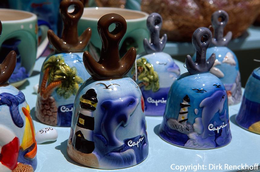 Souvenir-Verkauf auf Capri