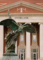 The Overcash Building on the campus of Central Piedmont Community College (CPCC) is also known as the Christa and Reece A. Overcash Academic and Performing Arts Center.