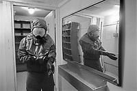 - Spangdhalem US air base, anti nuclear shelter (June 1985)....- base aerea USA di Spangdhalem, rifugio antinucleare (giugno 1985)