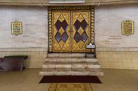 Yogyakarta, Java, Indonesia.  Main Doors of the Great Mosque, Masjid Gedhe Kauman, mid-18th. Century.