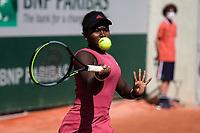 6th June 2021; Roland Garros, Paris France; French Open tennis championships day 8;  Chelsea Fontenel ( Sui )