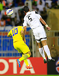 Al Shabab vs Naft Tehran during the 2015 AFC Champions League Group B match on April 07, 2015 at the Prince Faisal Bin Fahd Stadium in Riyadh, Saudi Arabia. Photo by Adnan Hajj / World Sport Group