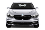 Car photography straight front view of a 2018 BMW 6 series gran turismo Sport 5 Door Hatchback