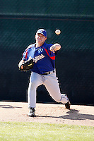 Robbie Ross  - Texas Rangers - 2009 extended spring training.Photo by:  Bill Mitchell/Four Seam Images