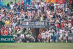 USA vs South Africa during their Cup Semi-final as part of the HSBC Hong Kong Rugby Sevens 2017 on 09 April 2017 in Hong Kong Stadium, Hong Kong, China. Photo by Marcio Rodrigo Machado / Power Sport Images