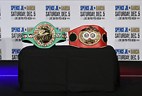 DALLAS, TX - DECEMBER 2: Press conference for the Errol Spence Jr. vs Danny Garcia December 5, 2020 Fox Sports PBC Pay-Per-View title fight at AT&T Stadium in Arlington, Texas. (Photo by Frank Micelotta/Fox Sports)