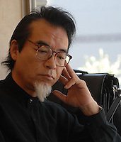 """The father of a boy who locked himself in his room for 13 years. The phenomenen of locking oneself in a room, unable to face society and other humans is known as """"hikikomori"""" in Japan.  There are apparently 1.3 million hikimori in Japan.<br /> <br /> 10-Oct-2006"""