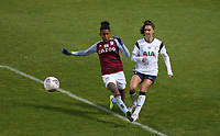 Alex Morgan of Tottenham Hotspur crosses the ball during Tottenham Hotspur Women vs Aston Villa Women, Barclays FA Women's Super League Football at the Hive Stadium on 13th December 2020