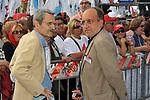 ROBERTO MORRIONE E GIUSEPPE GIULIETTI<br /> MANIFESTAZIONE PER LA LIBERTA' DI STAMPA PROMOSSA DAL FNSI<br /> PIAZZA DEL POPOLO ROMA 2009