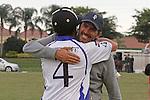 Valiente defeats Tonkawa, 13 - 8 in the Joe Barry Memorial Final at the International Polo Club Palm Beach in Wellington, Florida 01-26-2014