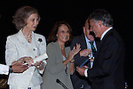 18.06.2012. Queen Sofia of Spain attends the Youth Scholarship Awards Music of Madrid at the Mutua Madrileña Foundation. In the image Queen Sofia  (Alterphotos/Marta Gonzalez)