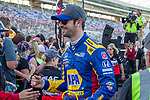 Andretti Autosport driver Alexander Rossi (27) of United States in action before the DXC Technology 600 race at Texas Motor Speedway in Fort Worth,Texas.