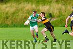 Conor Keane Legion takes on Stacks Jack Morgan during their Snr Club Championship clash in Killarney on Saturday