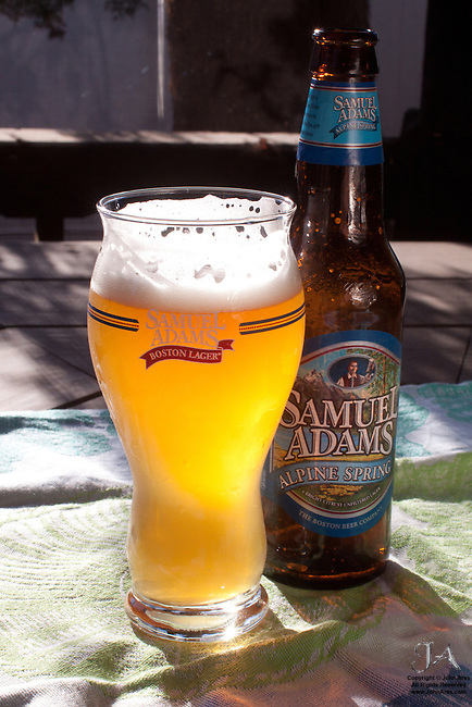 Sam Adams Alpine Spring, beer