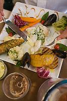 """Europe/France/2A/Corse du Sud/Ajaccio: l'aïoli du vendredi au Restaurant """"Le Don Quichotte""""  de Francis Cervasio"""