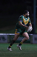 The Wyong Roos play Ourimbah Magpies in Round 15 of the Reserve Grade Central Coast Rugby League Division at Morry Breen Oval on 27th of July, 2019 in Kanwal, NSW Australia. (Photo by Paul Barkley/LookPro)