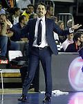 Alba Berlin's coach Ahmet Caki during Eurocup, Regular Season, Round 6 match. November 16, 2016. (ALTERPHOTOS/Acero)
