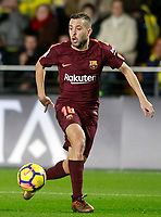 FC Barcelona's Jordi Alba during La Liga match. December 10,2017. (ALTERPHOTOS/Acero)<br /> Liga Campionato Spagna 2017/2018<br /> Foto Alterphotos / Insidefoto <br /> ITALY ONLY