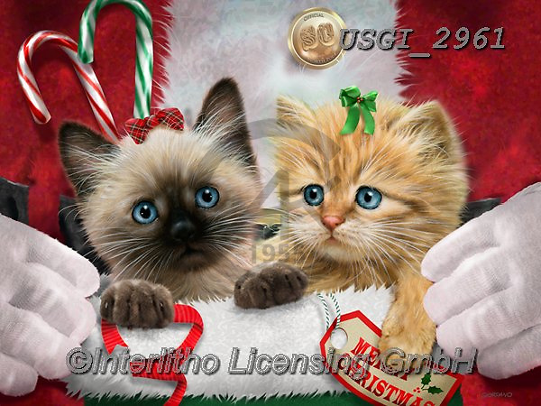 GIORDANO, CHRISTMAS ANIMALS, WEIHNACHTEN TIERE, NAVIDAD ANIMALES, paintings+++++,USGI2961,#xa#
