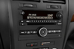 Stereo audio system close up detail view of a 2008 Saturn Outlook XR