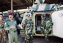 Irak 2002.Au camp des forces spéciales a Salahadin.Iraq 2002.Special forces in Salahadin