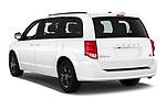 Car pictures of rear three quarter view of 2019 Dodge Grand-Caravan GT 5 Door Minivan Angular Rear