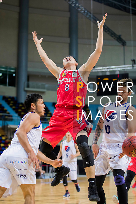 Rizing Zephyr Fukuoka vs Guangzhou Long Lions during the Summer Super 8 at the Macao East Asian Games Dome on July 17, 2018 in Macau, Macau. Photo by Yu Chun Christopher Wong / Power Sport Images