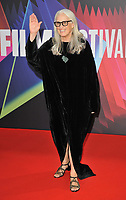 """Jane Campion at the 65th BFI London Film Festival """"The Power Of The Dog"""" American Express gala, Royal Festival Hall, Belvedere Road, on Monday 11th October 2021, in London, England, UK. <br /> CAP/CAN<br /> ©CAN/Capital Pictures"""